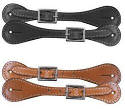 Western Saddle Horse Ladies Womens or Youth Spur Straps 8