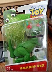 DISNEY TOY STORY GAMING REX FIGURE DPF03 *NEW* $9.50
