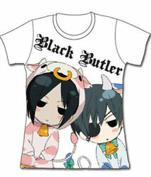 Black Butler: SD Cows Redesign JRS T-Shirt *NEW*