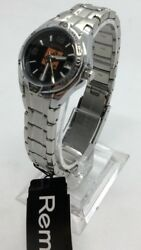 Fossil Remix PR3044 Home Depot Silver Tone Analog Watch Size 7 1 2quot; Used $14.99