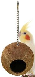 1683 Coco Home Bird Toy parrot cage toys cages finch conure cockatiel house nest $8.98