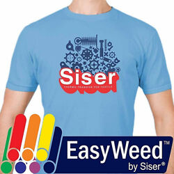 Siser EasyWeed® HTV Heat Transfer Vinyl for T Shirts 15quot; by the Yard Rolls $9.99
