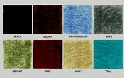 WALL TO WALL BATH CARPET RUGS CUT TO FIT PICK FROM 2 COLORS SIZE = 5 X 6 S $48.99