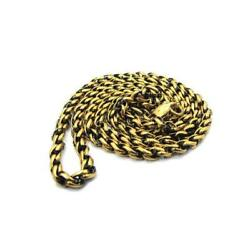 Han Cholo Individual Rolo Chain Gold Brass with Antique Necklace 24quot; $28.00