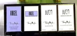 THIERRY MUGLER DELUXE MINI SET ANGEL ALIEN +FREE SHIPPING+LOVELY COSMETIC BAG
