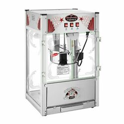 Majestic 7 Gallon Large Commercial Popcorn Popper Machine 16 Oz