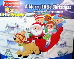 Little People: A Merry Little Christmas NEW! 2 CDJingle Bell Rock Fisher Price