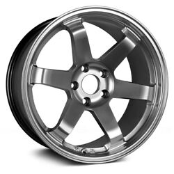 AVID.1 Wheels 17x8 (35 5x114.3 73.1) Black Rims Set of 4