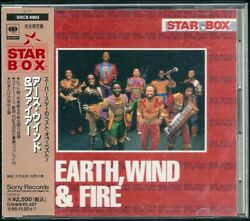 Earth Wind amp; Fire Star Box Japan CD w obi Limited Edition SRCS 6903 $14.99