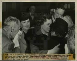 1948 Press Photo Family of Murder Suspect Mary Clay Watts After Acquittal Ohio