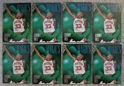 LOT OF (8) 1994-95 Hoops Magic's All-Rookies #AR3 Grant Hill RC (1:12 Packs)