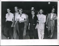 1957 Media Photo Suspects After Questioning In The Murder Of Martin Daniels Sr.