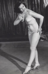 1940s CABINET PHOTO CHEESECAKE PIN UP EXOTIC DANCER & LEERING GUITAR PLAYERS 2 $19.99