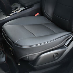 1Pc PU Leather 3D Full Surround Car Seat Protector Seat Cover Accessories Black