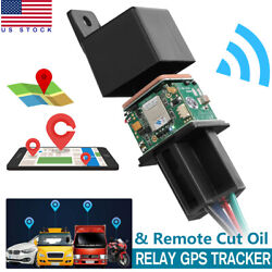 Car GPS GSM Tracker Relay Shaped Cut Oil Remotely Mini Hidden Real time Tracking $22.59