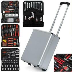 799 PCS Tool Set Mechanics Tool Kit Wrenches Socket w Trolley Case Box Organize $88.99