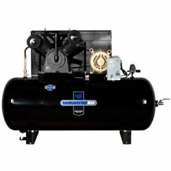 Industrial Air 10-HP 120-Gallon Two-Stage Air Compressor (200V 3-Phase)