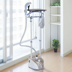 2L Full-Size Garment Steamer Professional Clothes Fabric Iron w Ironing Board