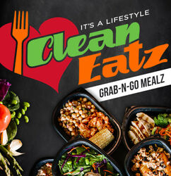 Clean Eatz Grab-N-Go Meal KETO BOX #2 - 30 Prepped Meals EASTERN USA ONLY