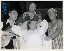 Lucille Ball director David Butler Kay Kyser Bing Crosby VINTAGE Photo candid