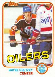 1981-82 Topps NHL Hockey Cards (Main East and West) Pick From List NM Condition