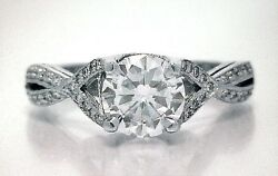 TACORI BEST SELLING NEW $16250 2565RD Platinum 1.20ctw SI1 GIA Engagement Ring