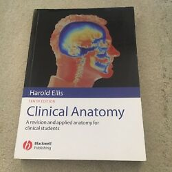 HAROLD ELLIS. CLINICAL ANATOMY. TENTH EDITION. 0632051957