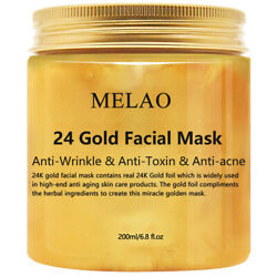 24K Gold Collagen Facial Face Mask Moisture Anti Aging Remove Wrinkle Skin Care