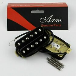 Artec Adjustable Poles Humbucker Set HBC115 Black $44.99