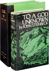 John Steinbeck TO A GOD UNKNOWN First Edition 1933 Literature #113175