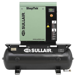 Sullair ShopTek ST709R 10-HP 80-Gallon Rotary Screw Air Compressor (2082304... $6,749.99