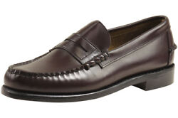 Sebago Men's Classic Leather Penny Loafers Shoes