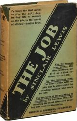 Sinclair Lewis THE JOB First Edition 1917 Literature #128559
