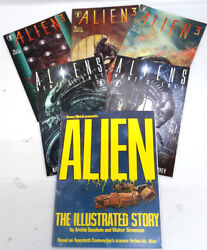 Alien Movie Comic Book Adaptation- Your Choice of First 3 Movies $9.95