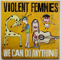 Violent Femmes Autographed vinyl record Album LP signed at private signing  BAS