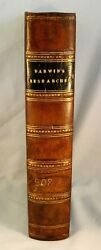 Charles Darwin JOURNAL OF RESEARCHES GEOLOGY AND NATURAL HISTORY 1839 1st Ed.
