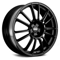 Fondmetal 9RR Wheels 17x7 (40 5x114.3 75) Black Rims Set of 4