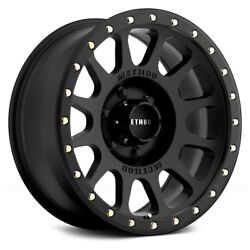 Method Race Wheels 305 NV Wheels 17x8.5 (0 5x114.3 83) Black Rims Set of 4