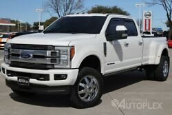 2018 Ford F-350  Limited 3 Inch Lift 20 Inch Fuel Wheels Navigation Panoramic Sunroof