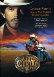 PURE COUNTRY (DVD) George Strait Christopher Cain DVD [Musicals] [Romance] NEW