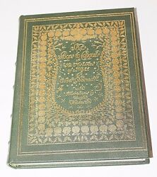SHE STOOPS TO CONQUER by Goldsmith Hugh Thomson Color Deluxe Edition Leather