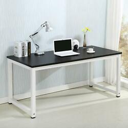 Computer Study Student Desk Laptop Table Sturdy Home Office Furniture $85.99