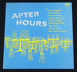 After Hours Blues LP King 528 Bill Doggett Earl Bostic Sonny Thompson NM