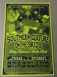 Southern Culture On The Skids 01 Original Concert Poster wSlim Cessna Auto Club
