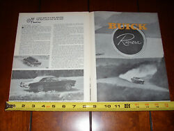1963 BUICK RIVIERA ORIGINAL VINTAGE ARTICLE $13.95