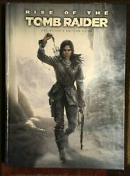 RISE OF THE TOMB RAIDER COLLECTORS EDITION OFFICIAL HARDBACK STRATEGY GAME GUIDE