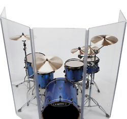 Drum ShieldDrum Screen Panels 5 Panels 2ftX5ft with Flexible Hinges  $235.00