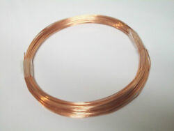 Solid Bare Copper Wire Choose Your Gauge and Length $5.50