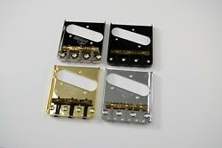 Wilkinson Telecaster WTB Brass Saddle Guitar Bridge Chrome Nickel Black Gold $20.49