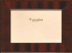 Natalini Hand Made in Italy Wood Marquetry Photo Picture Frame 8x10 $34.99